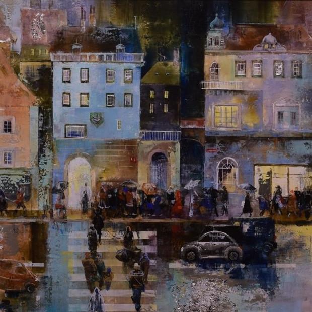 Veronika Benoni - The Rain, 2018