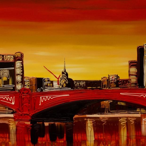 Ed Waite - Londons Burning, 2017