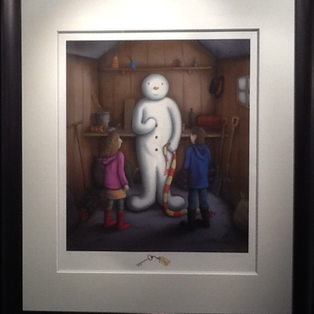 Paul Horton - The Secret Snowman - Artist Remarque