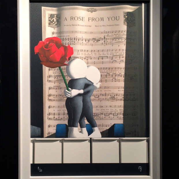Mark Grieves - A Rose From You, 2018