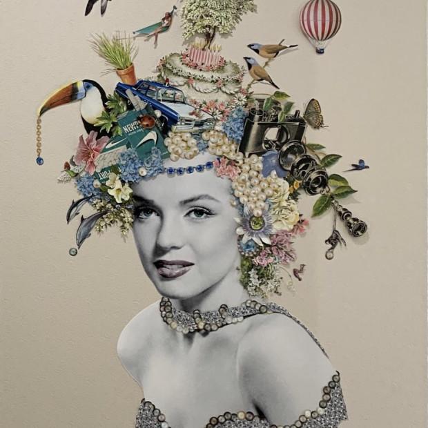 Maria Rivans - Pearl - (Marilyn Monroe), 2021