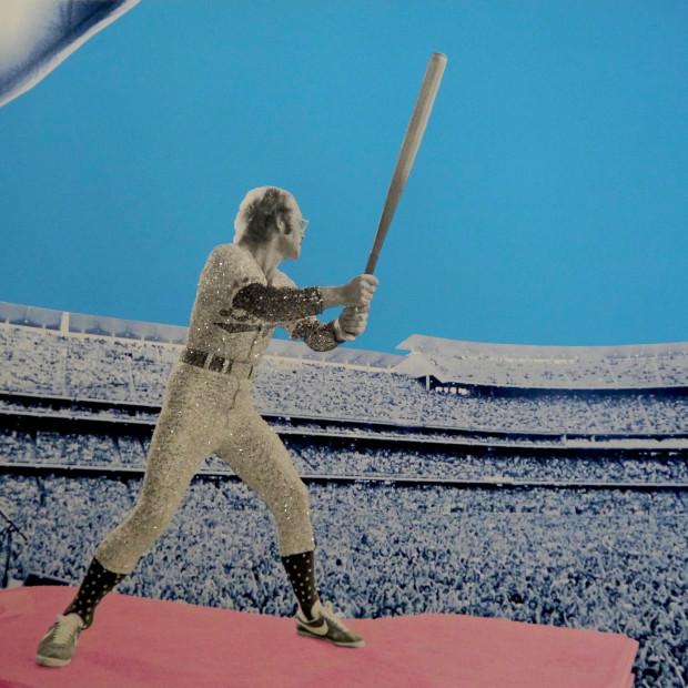 David Studwell - Elton John Home Run - Dodger Stadium 1975, 2019