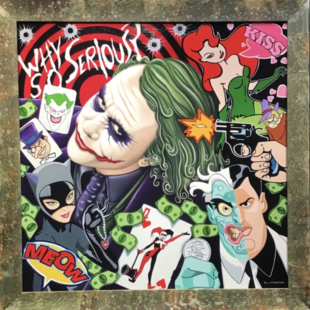 Marie Louise Wrightson - Why So Serious - The Joker, 2020