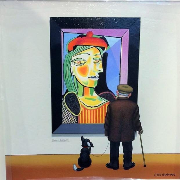 Chris Chapman - The Art Critic, 2017
