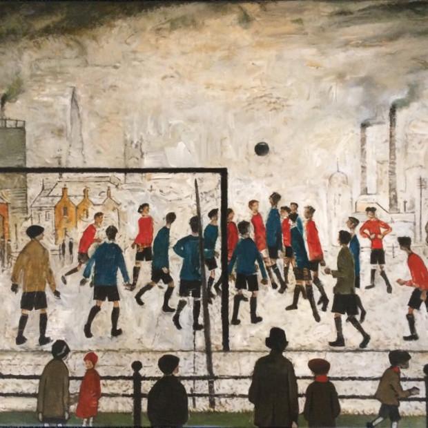 Peter Osborne - L S Lowry - The Football Match