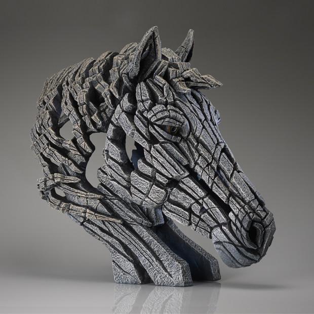 Matt Buckley - Horse Bust (White)