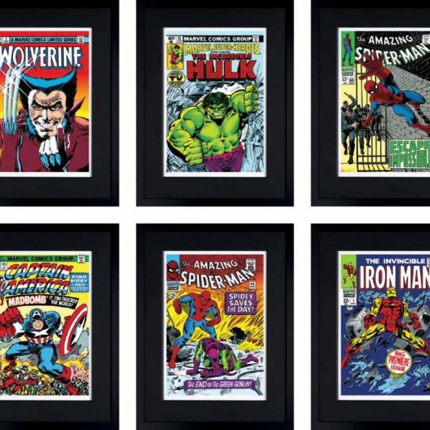 Marvel/ Stan Lee - Marvel Superheroes Portfolio Set of 6, 2016
