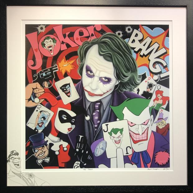 Marie Louise Wrightson - The Joker, 2021