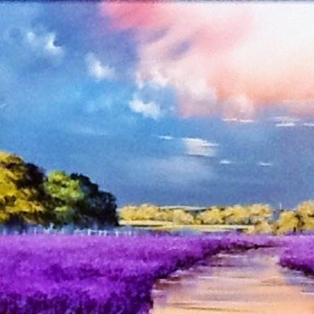 Allan Morgan - Lavender Hope, 2018