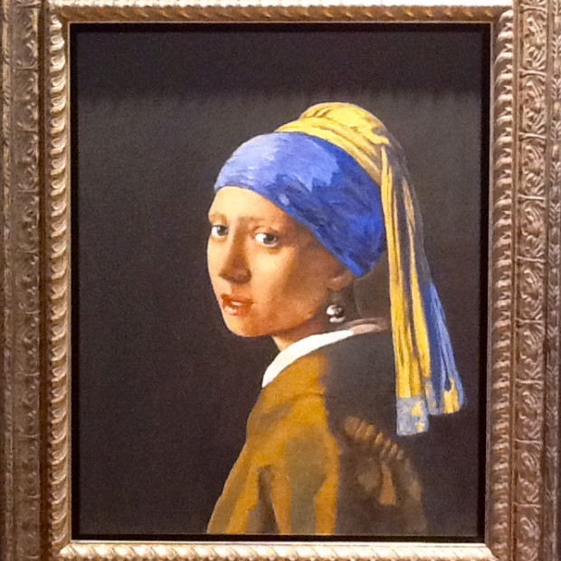 Peter Osborne - Vermeer - Girl With A Pearl Earring, 2017