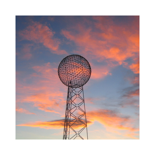 Jill Johnson - Geodesic Dome. Terlingua, TX, 2018