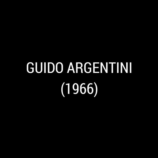 Guido Argentini -