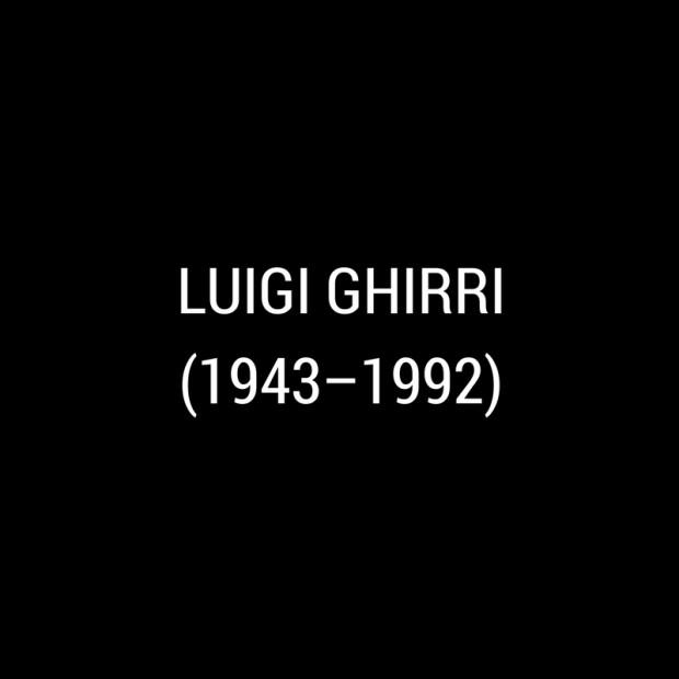 Luigi Ghirri -