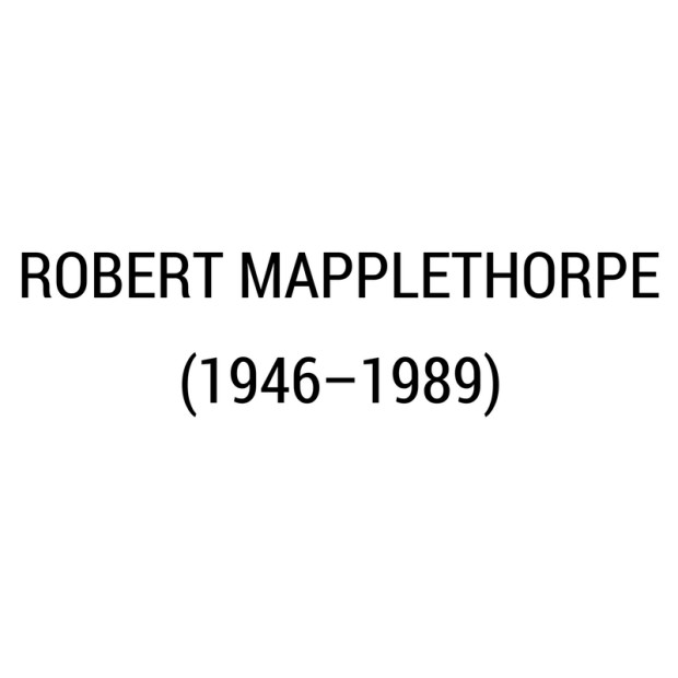 Robert Mapplethorpe -