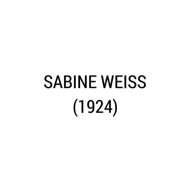 Sabine Weiss -