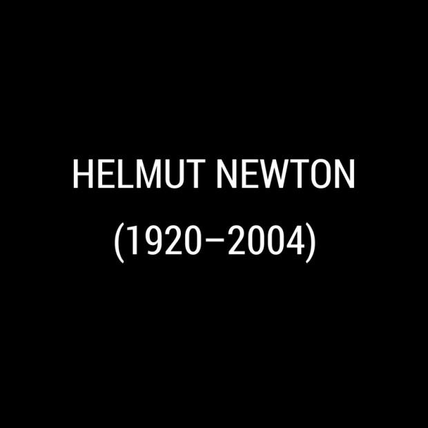 Helmut Newton -