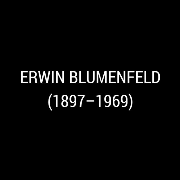 Erwin Blumenfeld -