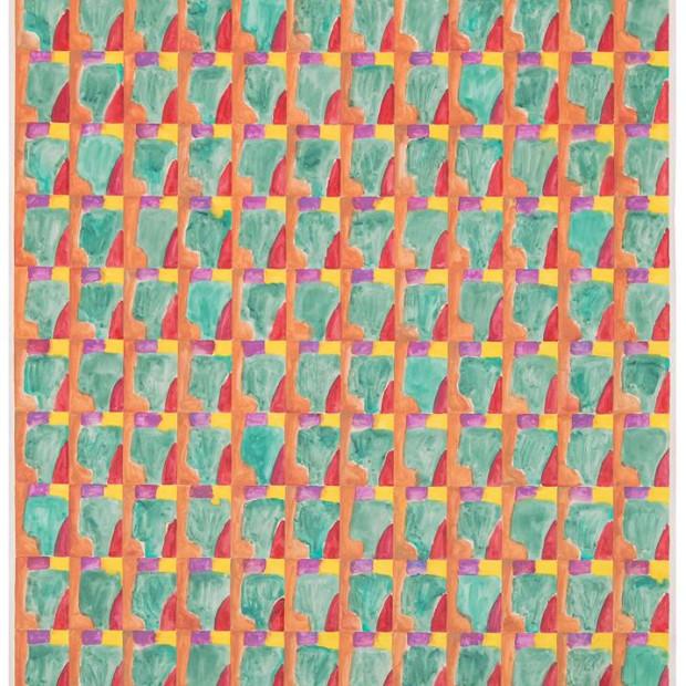 Marijn van Kreij - Untitled (Paul Klee, Schlucht in den Alpen, 1938), 2015