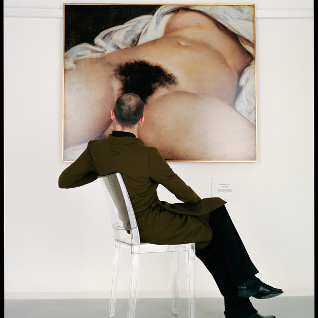 Jean-Baptiste Mondino - Man Looking at the Origin of the World