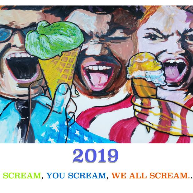2019 SCREAMING CALENDAR