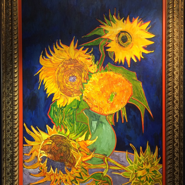 Love for the Sunflowers, Celebrating Vincent Van Gogh, master of Sunflowers