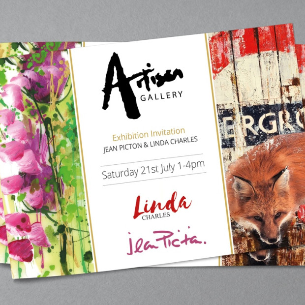 Linda Charles & Jean Picton Show , Artist Appearance