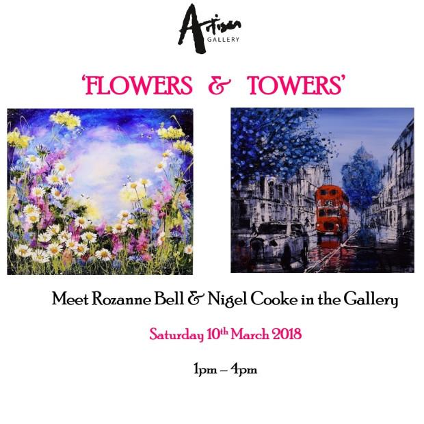 ROZANNE BELL & NIGEL COOKE SHOW , Artist appearance