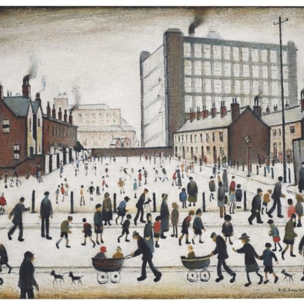 The Lost Lowry Painting!