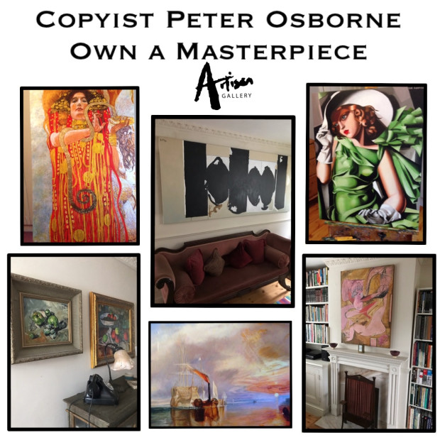 Peter Osborne - Inspired by Modigliani Exhibition @The Tate Modern