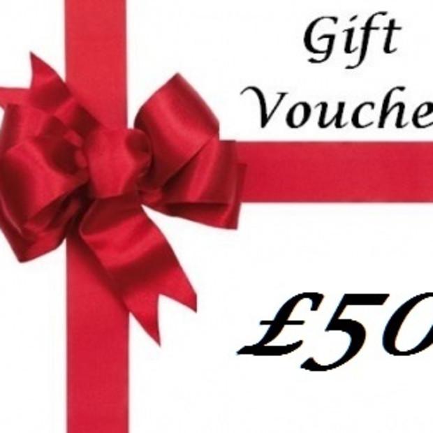 Gift Voucher, Gift Voucher £50