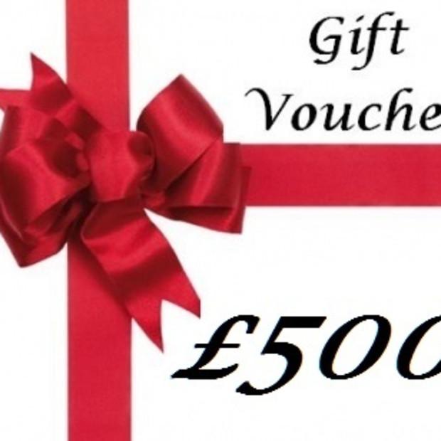 Gift Voucher , Gift Voucher £500