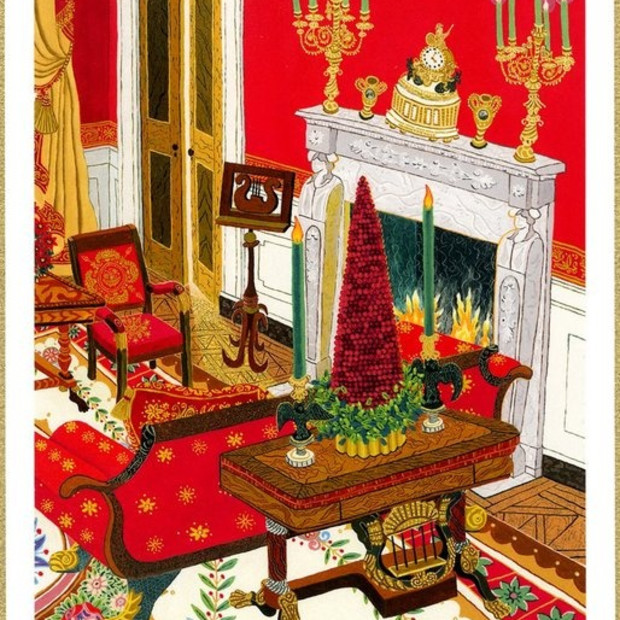 Red Room by Cindi Holt to be Highlighted in 2004 White House Christmas Card