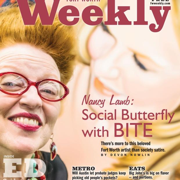 Nancy Lamb: Social Butterfly with Bite