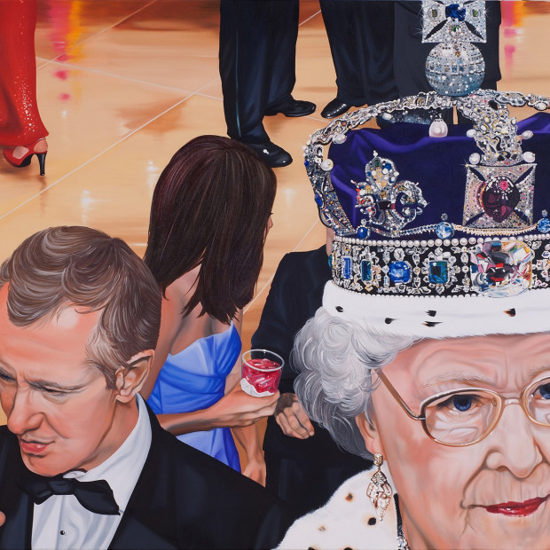 Nancy Lamb, Royal Crown Neat, Oil on canvas