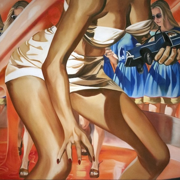 Michelle Brandley, Goliath, Oil on Canvas