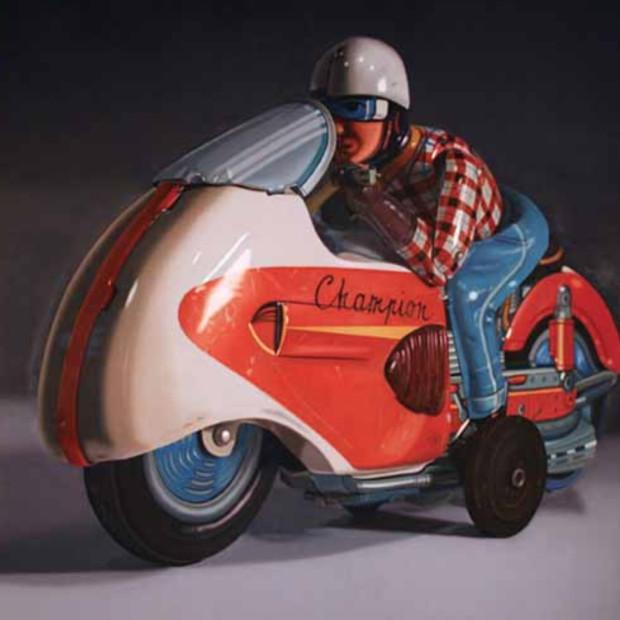 John Hartley, Champion, Oil on Canvas