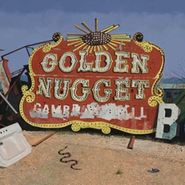 Daniel Blagg, Irrational Exuberance (Golden Nugget), Oil on Canvas