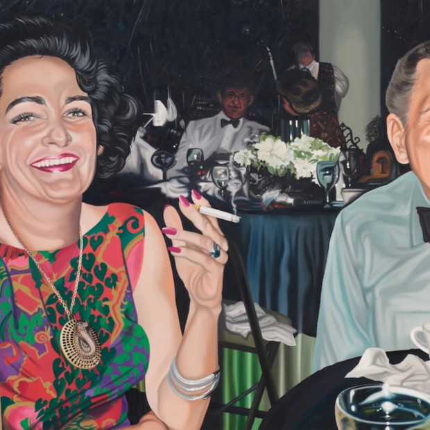 Nancy Lamb, The Menthol Mood, Oil on Canvas