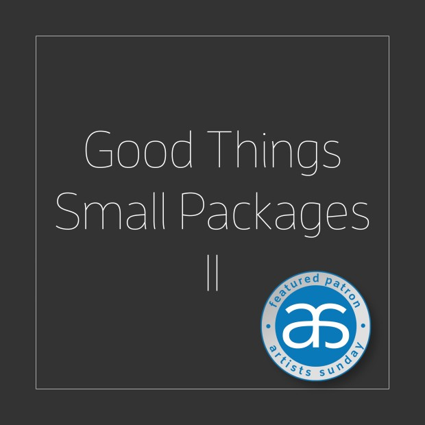 Collect Good Things / Small Packages II on Artists Sunday & Online!