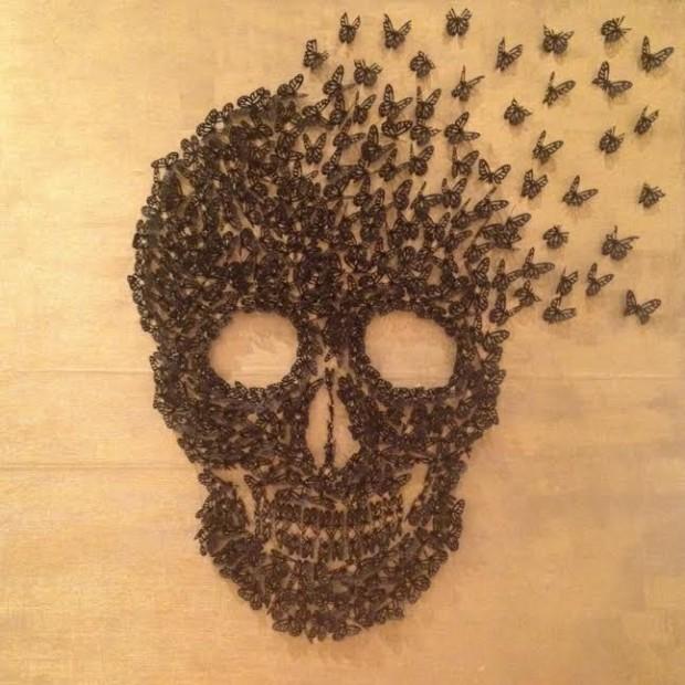 Skull by Yasmeen Bond