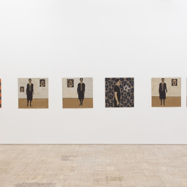 Ephrem Solomon in Nine Artists, Stevenson Gallery, Cape Town, South Africa