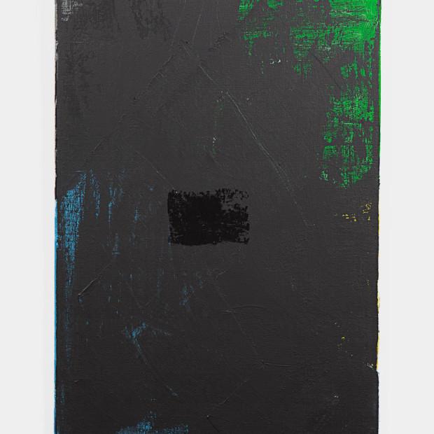 Ben Benaouisse, Untitled, 2015, acrylic on canvas, 60 x 40 cm.