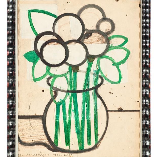 Mario De Brabandere, Stilleven met bloemen geworden appels, 1995-2009