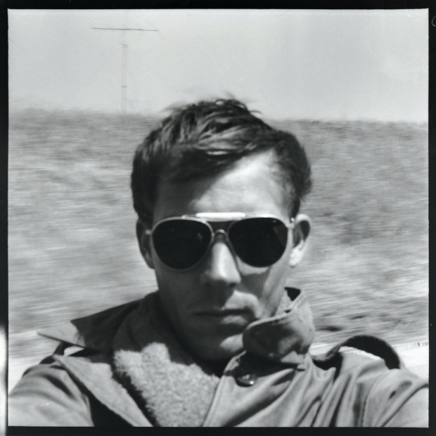 Hunter S. Thompson - Self Portrait, On the Road to Tijuana, circa 1960s