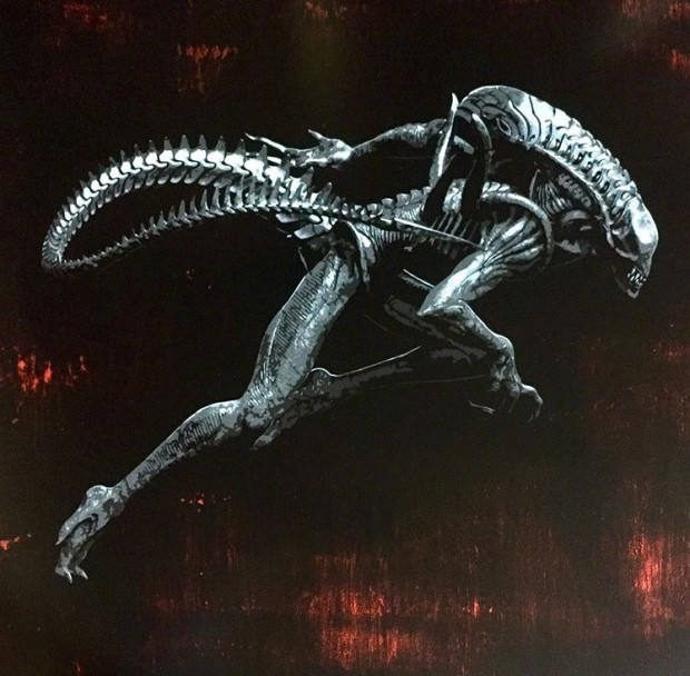 Lee Henderson, Alien, 2018
