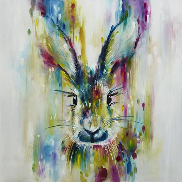 Katy Jade Dobson, Hare - Escape - Small, 2018