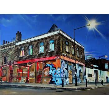 Marc Gooderham, Nightfall On White Post Lane