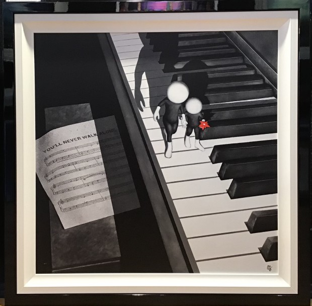 Mark Grieves, You'll Never Walk Alone , 2017