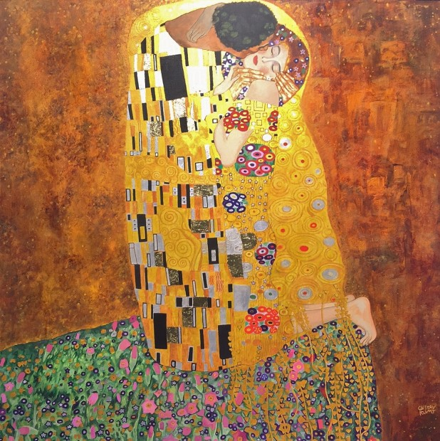 Peter Osborne, Gustav Klimt - The Kiss, 2017