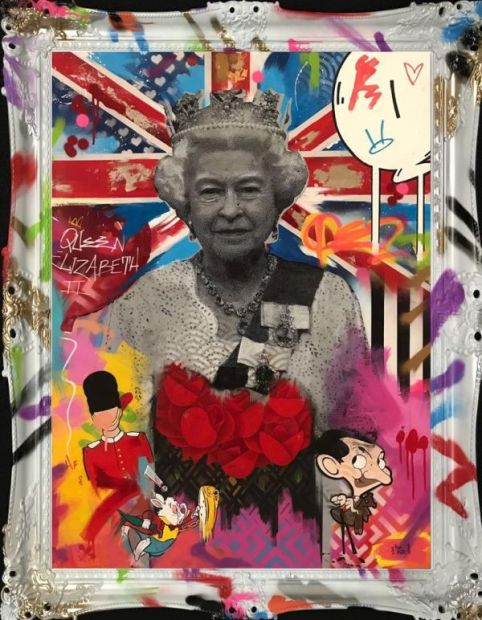 Hue Folk, Queen Elizabeth, 2018